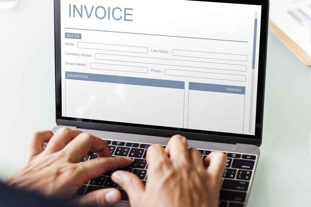 invoice handling stratecta